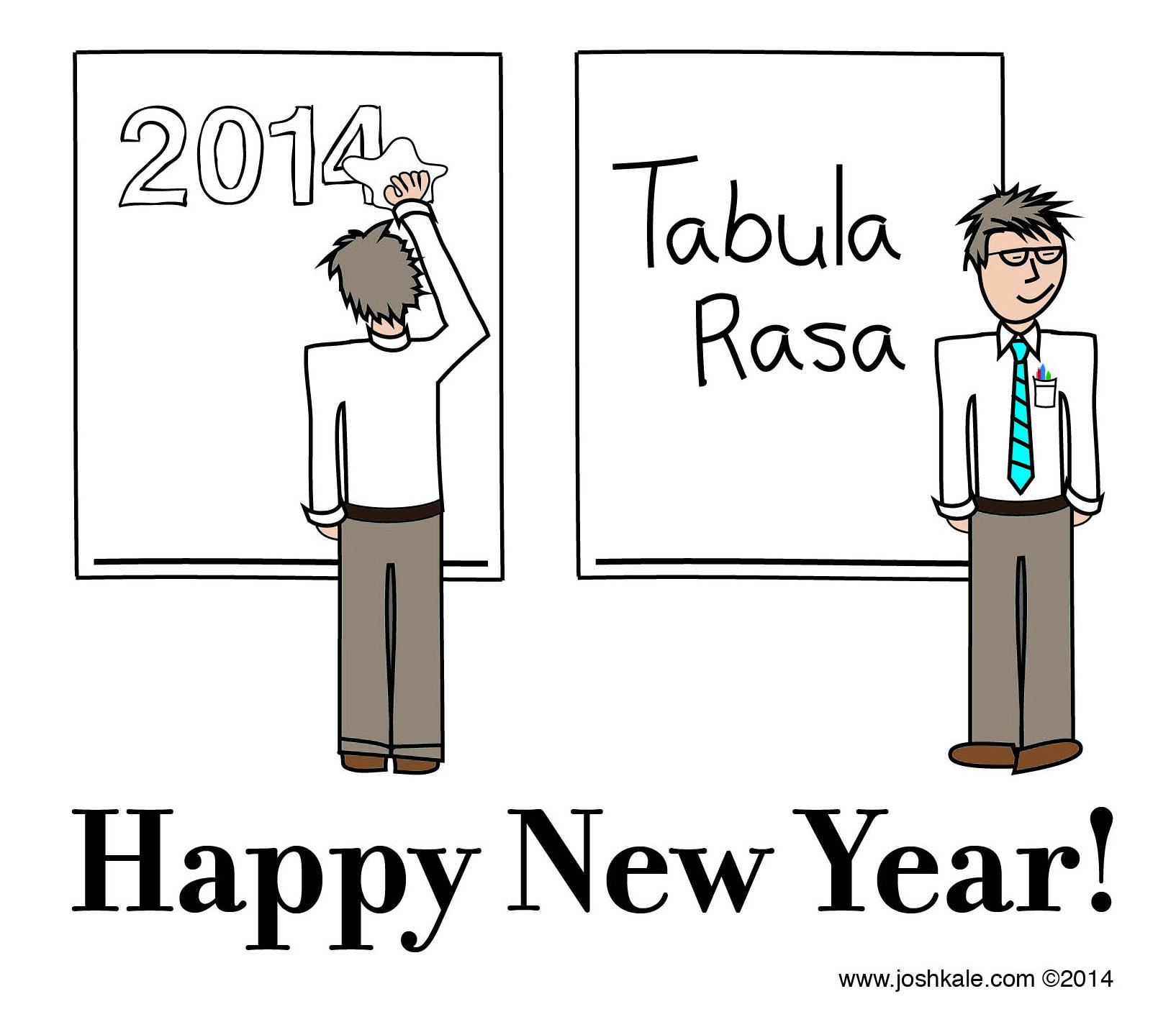 Happy New Year 2015! (tabula rasa)